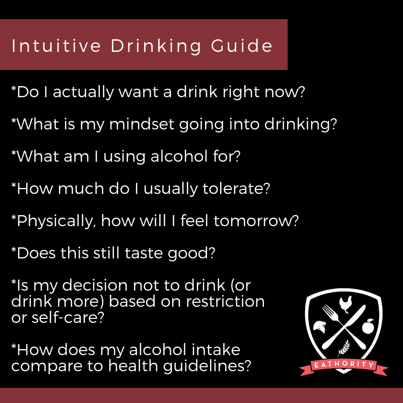 What is Intuitive Drinking?
