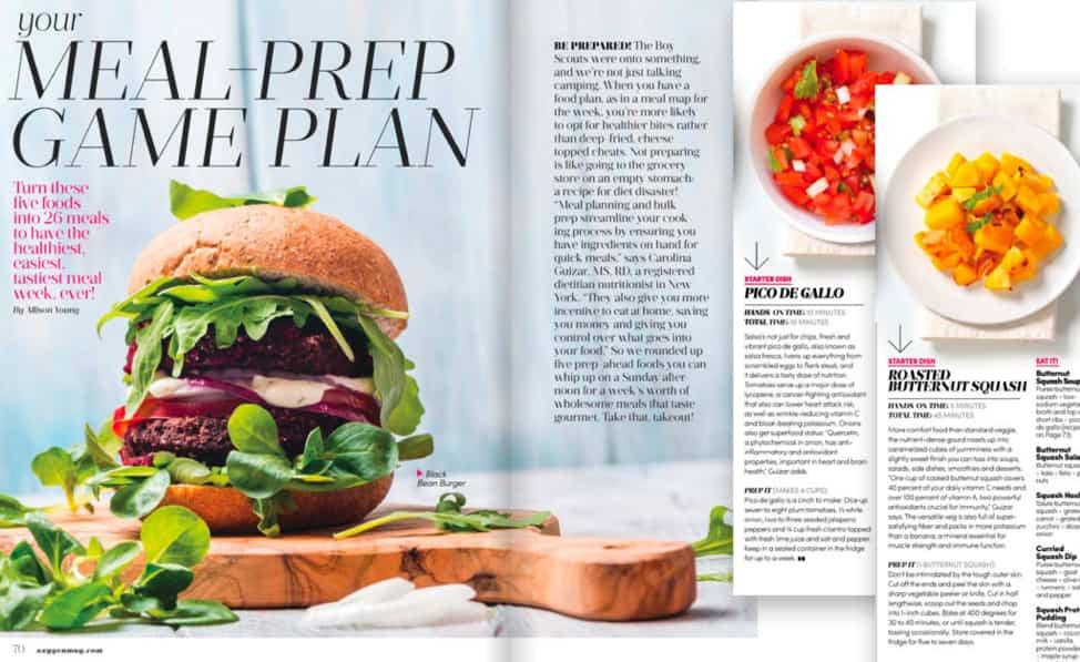 Meal Prep by Carolina Guizar, Intuitive Eating Coach, Eathority