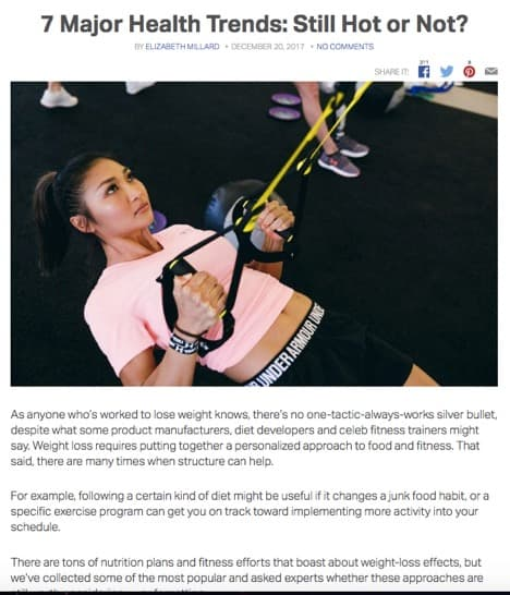 My Fitness Pal Article Featuring Intuitive Eating Coach, Eathority